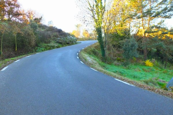 Project of road setting improvement in Tavertet